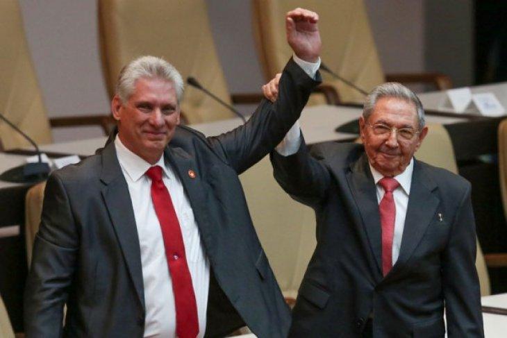 "Miguel Diaz-Canel janji lanjutkan ""revolusi"" Kuba"