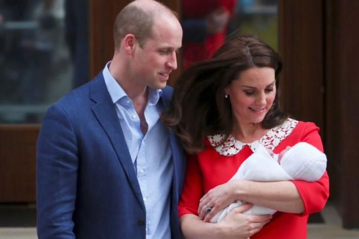 Pangeran William dan Kate Middleton sambut kelahiran anak ketiga