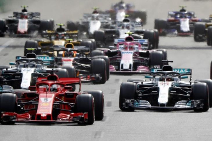 Vettel curi kemenangan di GP F1 Inggris