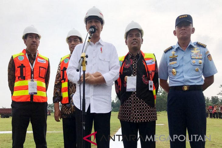 President Joko Widodo visit to Central Java (Video)