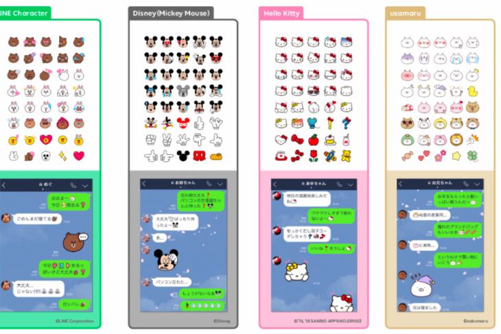 LINE luncurkan rangkaian emoji terbaru, termasuk Mickey Mouse