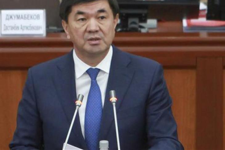 Abylgaziyev jadi PM baru Kirgistan