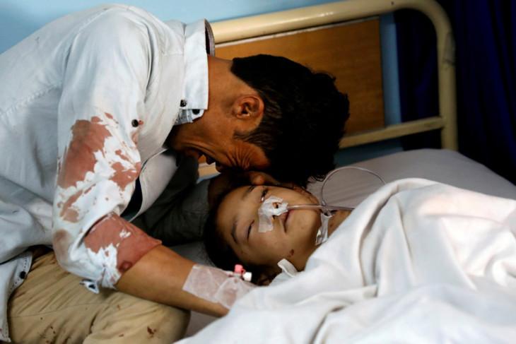 Sepuluh anak tewas akibat serangan udara AS di Afghanistan