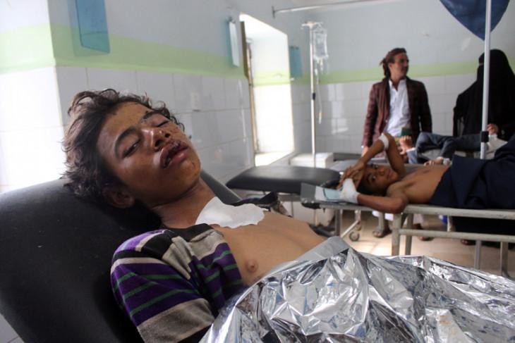 Puluhan tewas akibat serangan udara di Yaman