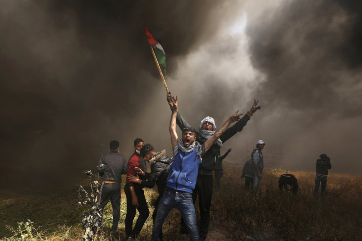 Gaza explosion kills six Palestinians