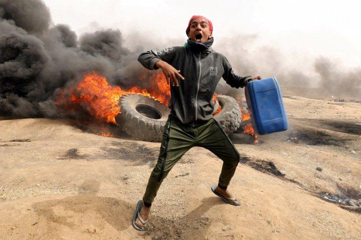 Pasukan Israel mulai hancurkan kafilah pemrotes di permukiman Badui