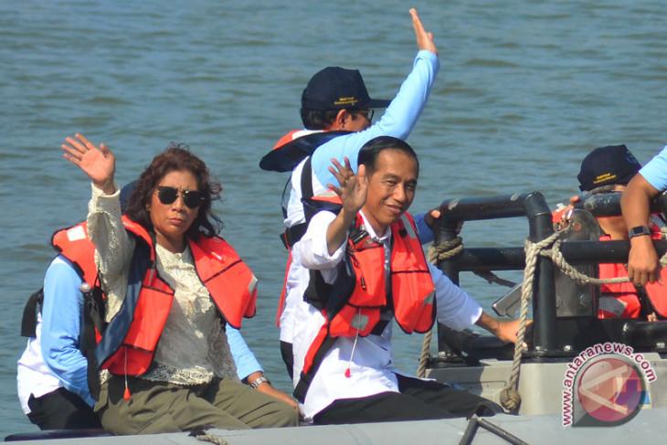 Menteri Susi tegaskan pemberantasan pencurian ikan baru langkah awal