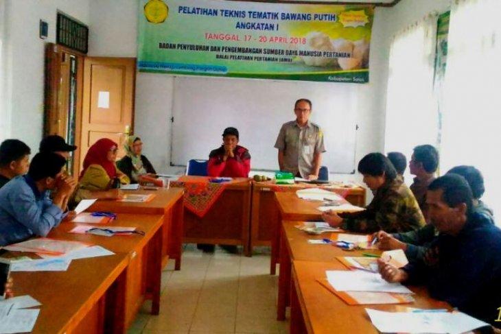 BPP Jambi gelar pelatihan tematik bawang putih di Solok