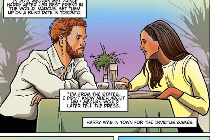 Kisah cinta Pangeran Harry-Meghan Markle terbit dalam buku bergambar
