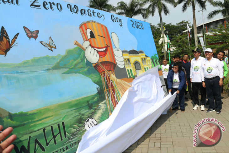 "Menteri LHK canangkan Medan ""zero waste city"""