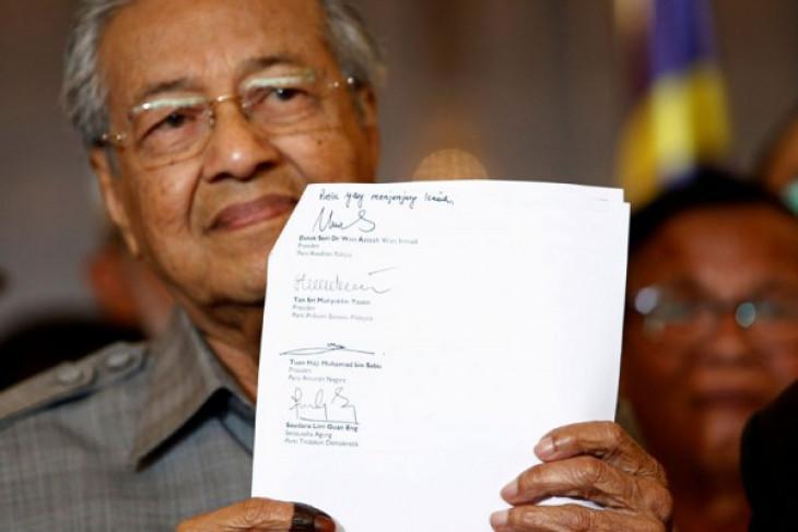 Mahathir Muhammad potong gaji menteri untuk kendalikan pengeluaran