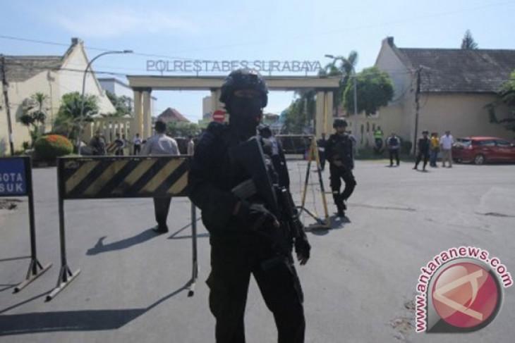Antisipasi terorisme, Polres Inhu perketat penjagaan