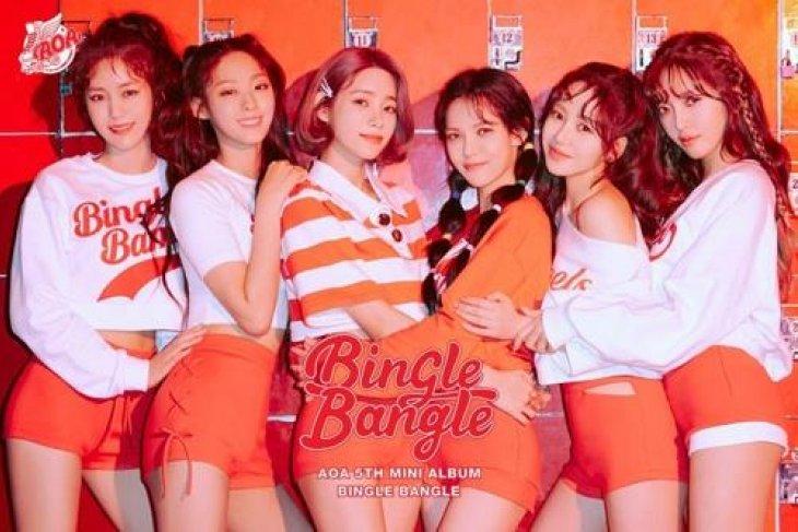 AOA akan ramaikan jagat musik K-pop lewat album baru