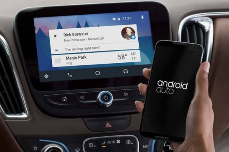 Android Auto akan hadir di mobil Toyota