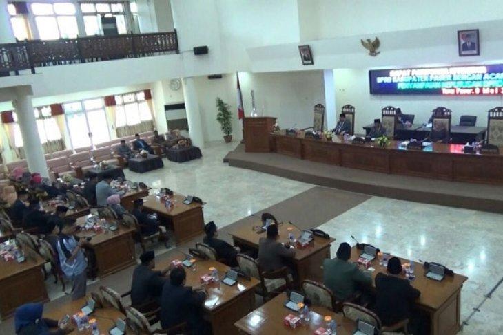 DPRD beri sejumlah rekomendasi LKPj Bupati Paser