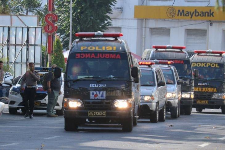 Kapolri kunjungi korban bom Polrestabes Surabaya