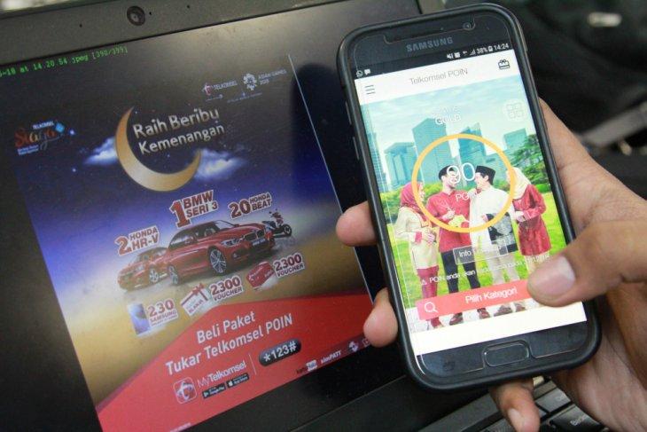 Telkomsel berikan hadiah miliaran rupiah ke pelanggan