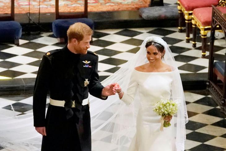 Meghan dan Harry kirim bunga pernikahan ke rumah sakit