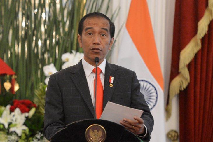 Jokowi, kalla lay first cornerstone of international islamic university campus
