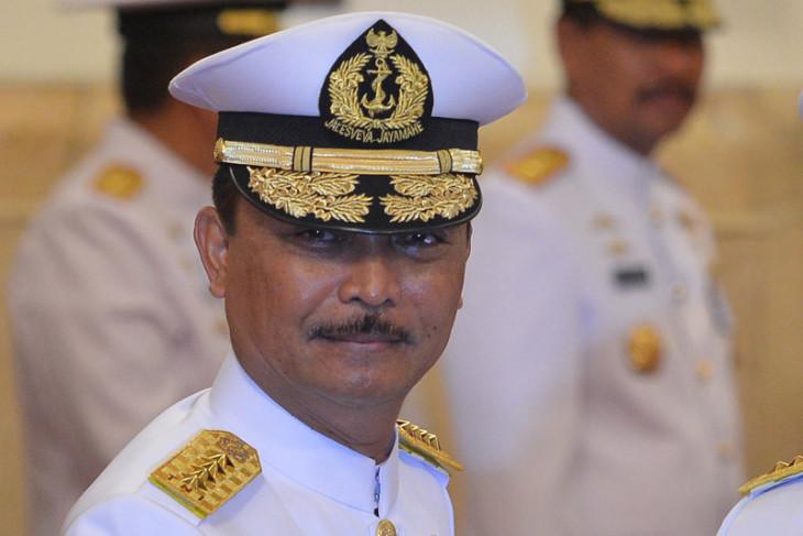 Laksamana TNI Siwi S Adji jadi warga kehormatan Polisi Militer TNI AL