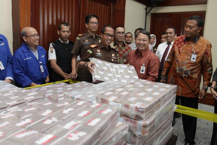 Kejati DKI setorkan uang pengganti penyalahgunaan dana BLBI Samadikun Hartono