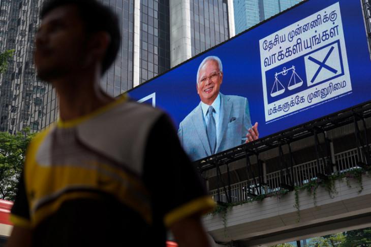 Polisi Malaysia geledah lima tempat terkait Najib Razak