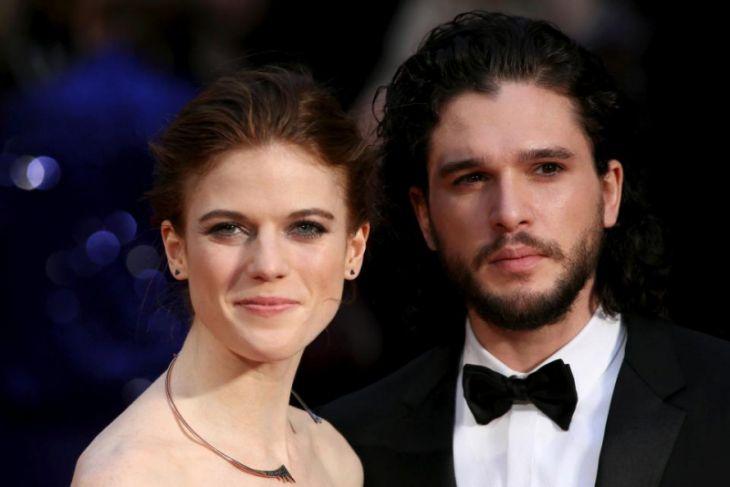 """Pasangan """"Game of Thrones"""" Kit Harington-Rose Leslie resmi menikah"""