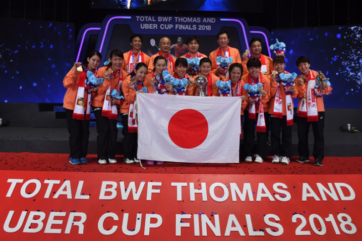 Jepang raih Piala Uber 2018