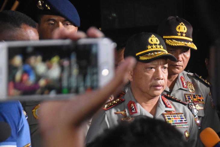 8 terduga teroris Riau ditangkap, Kapolri yakin semua ini ulah JAD