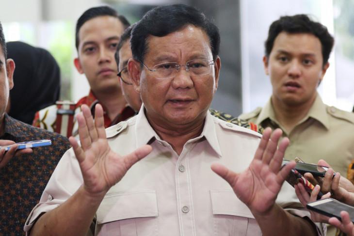 Prabowo Kunjungi Gedung DPR