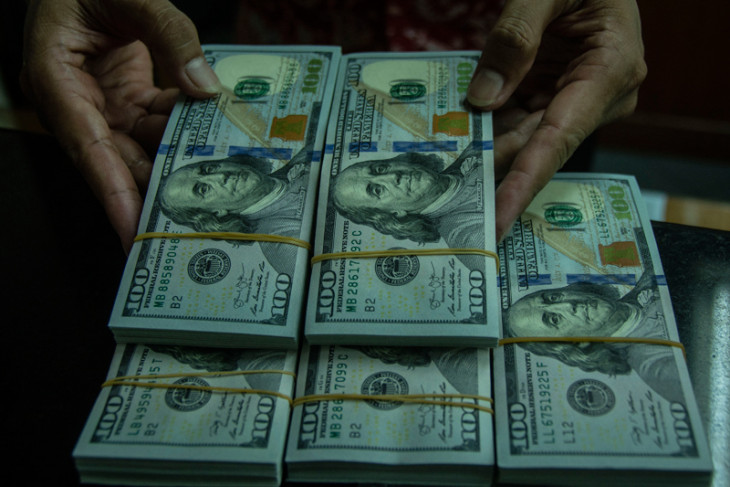 "Dolar AS melemah di tengah laporan ""beige book"" Fed"