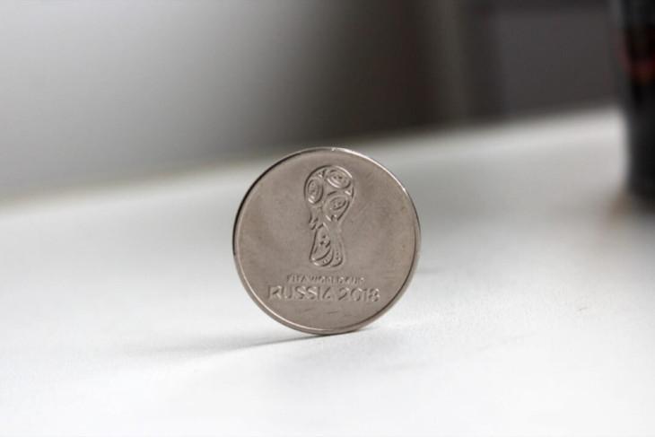 Koin Piala Dunia jadi buruan