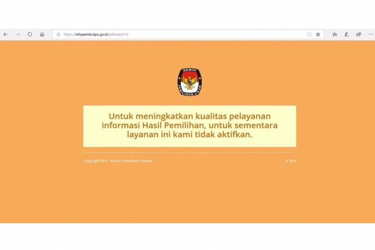 Image result for situs KPU di hack 2018