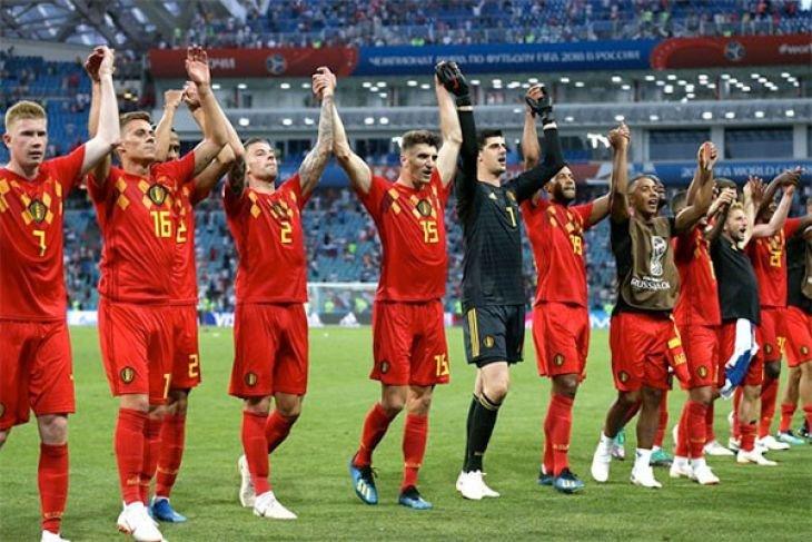 Piala Dunia - Belgia melibas Timnas Tunisia 5-2
