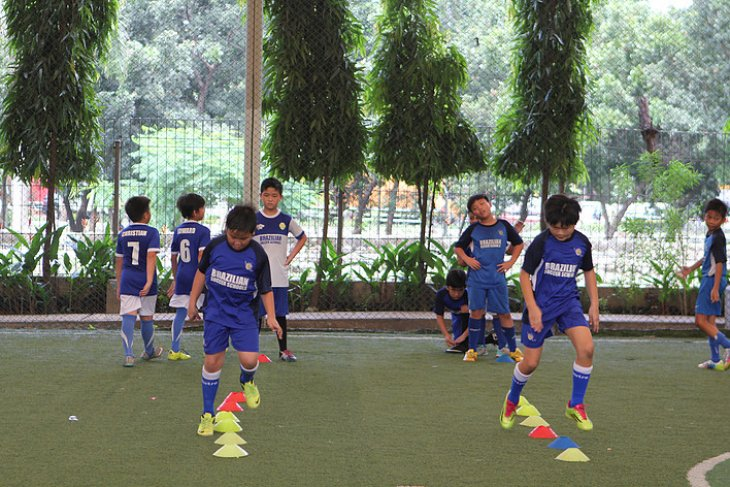 Brazilian Soccer Schools beri latihan 135 yatim-piatu