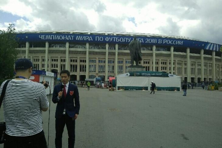 Sehari jelang pembukaan, begini ketatnya pengamanan Stadion Luzhniki