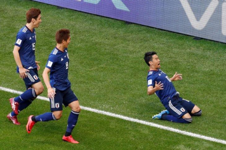 Timnas Jepang ke babak 16 besar Piala Dunia