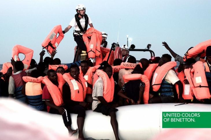 Manfaatkan penyelamatan imigran untuk iklan, Benetton dikecam