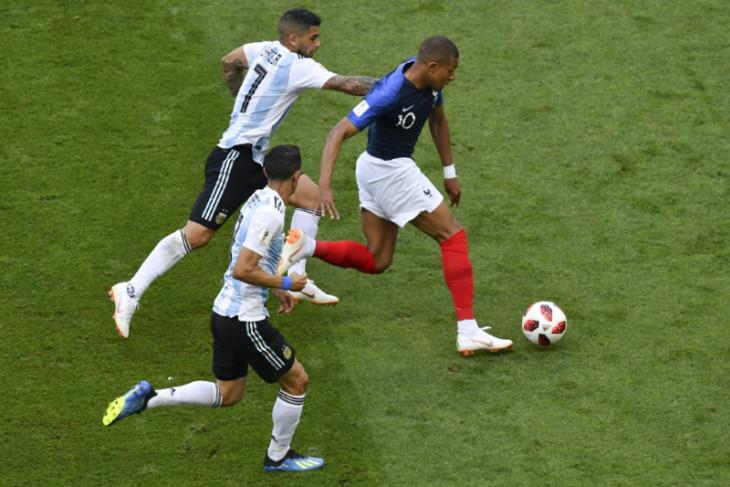 "Prancis ""tendang"" Argentina dari Piala Dunia berkat dwigol Mbappe"