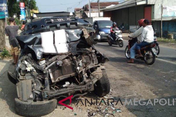 Kecelakaan beruntun di jalur Sukabumi-Bogor