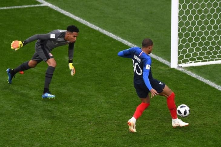 Mbappe pencetak gol termuda Prancis di Piala Dunia