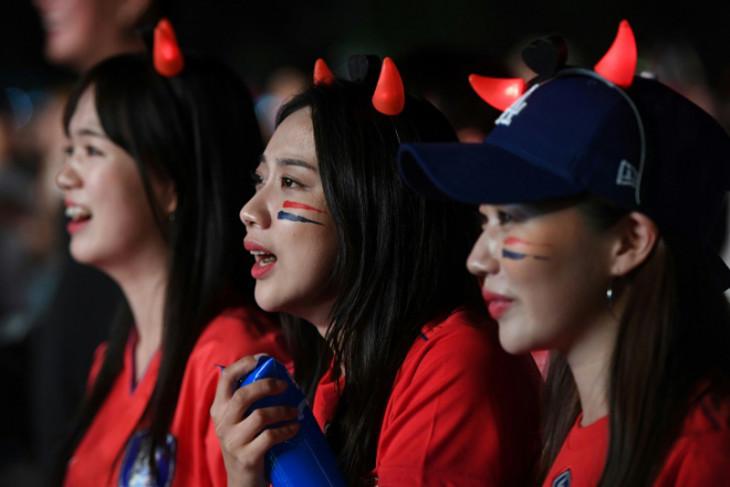 Kekalahan Korsel atas Meksiko dalam galeri foto Piala Dunia