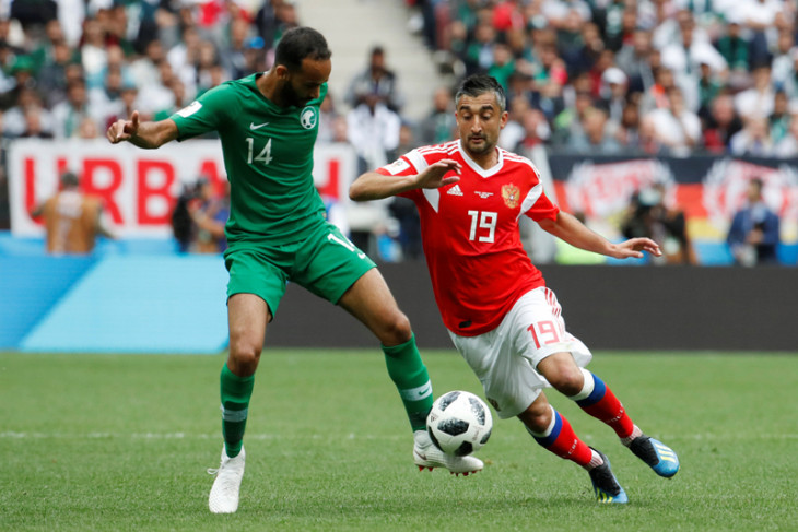 Piala Dunia Rusia vs Saudi