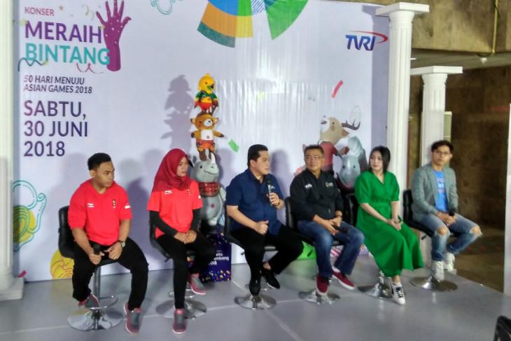 Via harapkan lagu Asian Games sepopuler Sayang