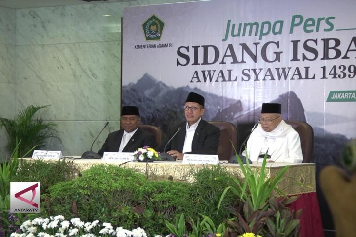 Pemerintah Tetapkan Idul Fitri Jumat 15 Juni