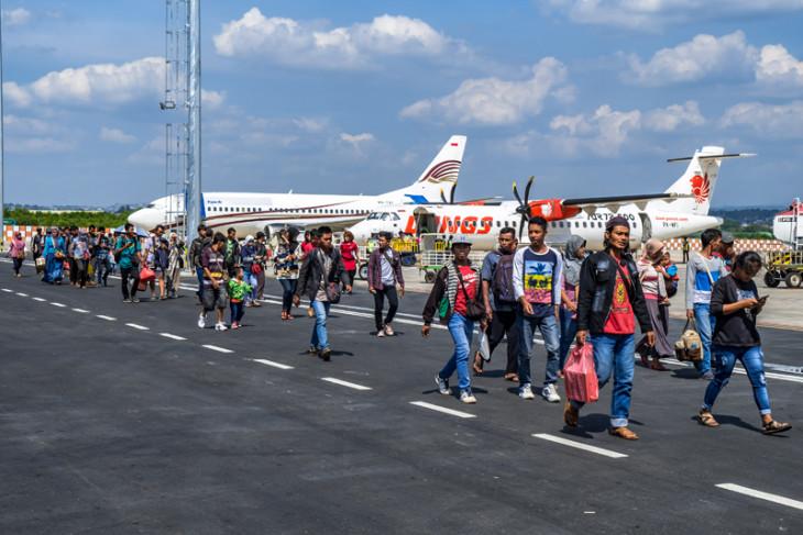 Penumpang di bandara Depati Amir capai 44.529 orang