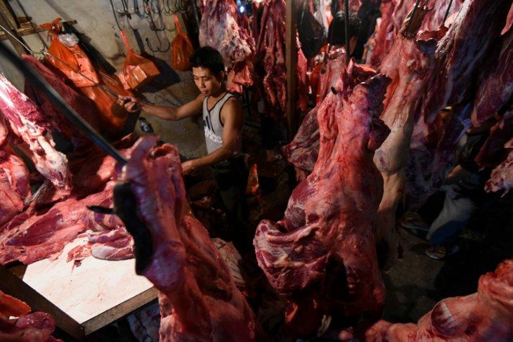 Harga daging sapi tembus Rp130.000/kg di Lampung