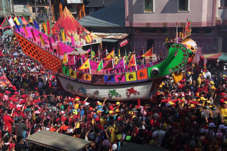 Ritual Bakar Tongkang Bagansiapiapi