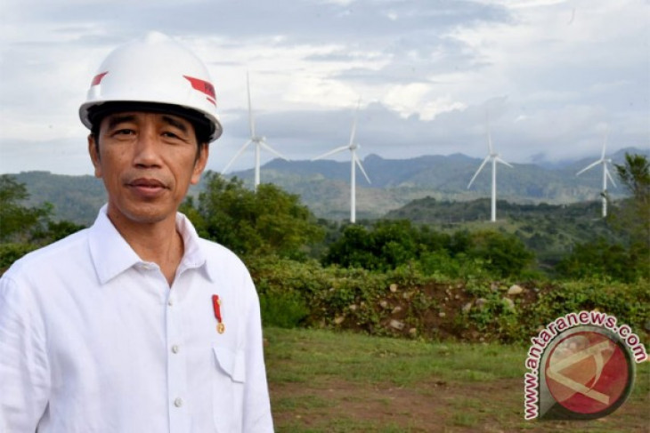 Indonesia committed to develop renewable energy-based power plants: President