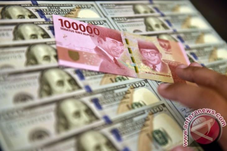 Rupiah kamis sore Rp14.390